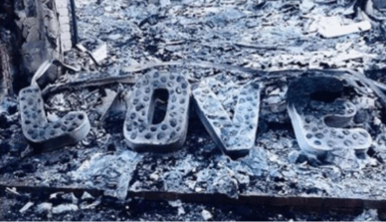 Liam Hemsworth y Miley Cyrus Mostraron en redes sociales la destrucción de su hogar causada Por los incendios