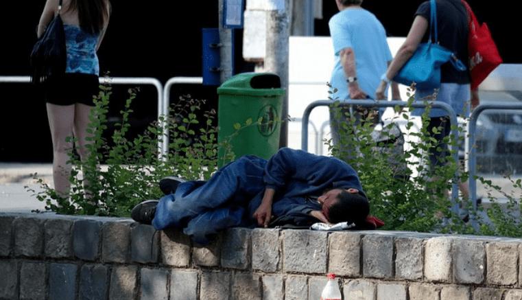 25 de noviembre día de las personas sin hogar