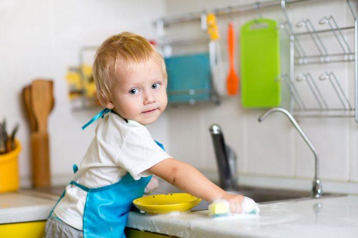 Tareas de los hijos en el hogar, según su edad