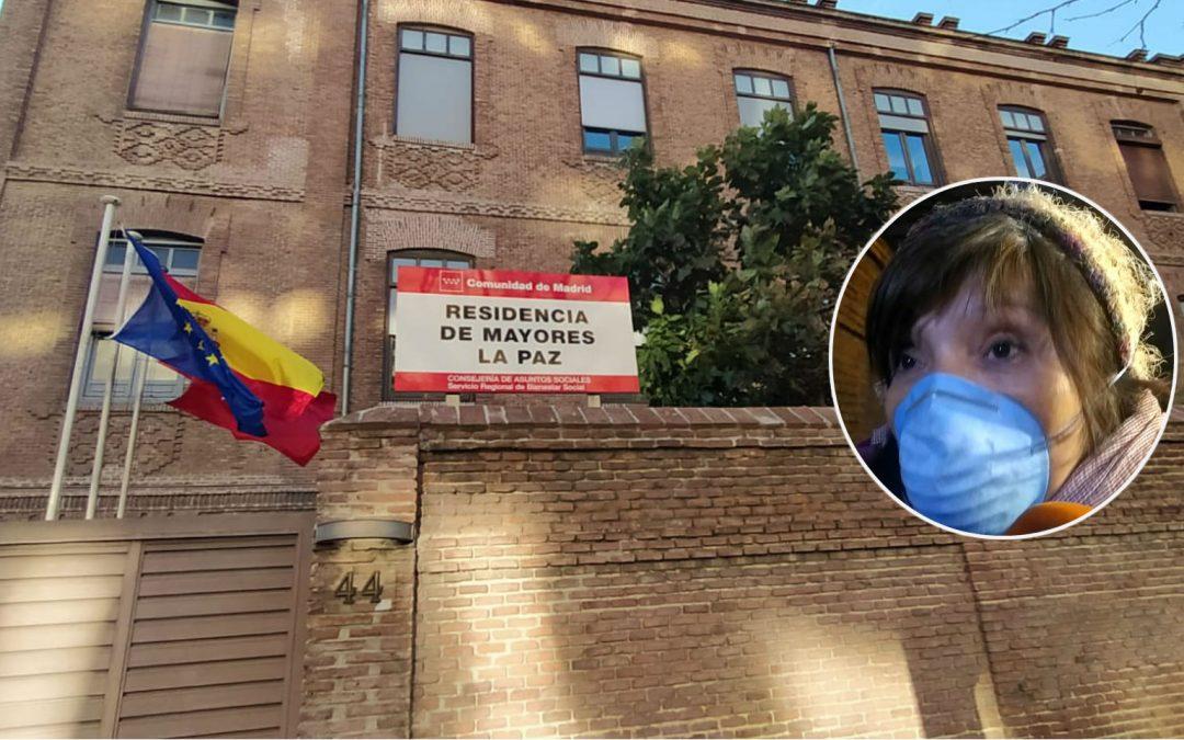 Hogar para mayores en Madrid 10 casos de COVID-19 y una mujer fallecida